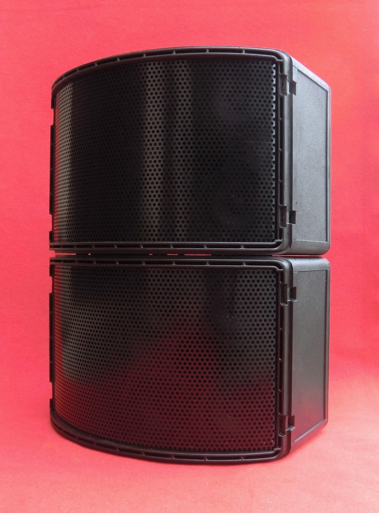 Neue Front in Loch-Alu (schwarz) für BOSE 802